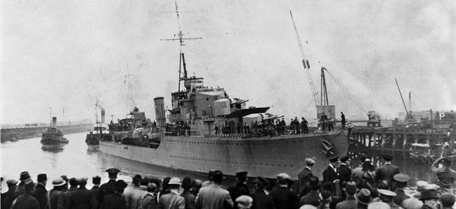 Jammed with prisoners, the German supply ship Altmark was en route back to the Fatherland when she was intercepted and boarded by the British Navy.