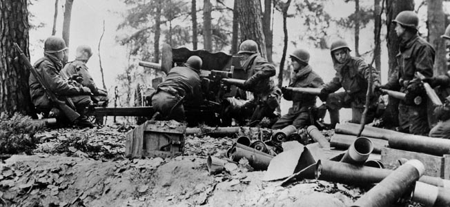 A U.S. Armored Infantry Company face the fury of the Wehrmacht's operation NOrdwind on New Year's Day 1945.