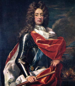 John Churchill, the first Duke of Marlborough, at the height of his glory.