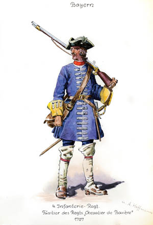 An infantryman of the French Royal Army.