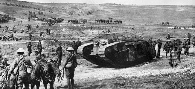 Badly needing a victory on the western front, British commander Douglas Haig turned to the fledgling tank corps for a breakthrough.