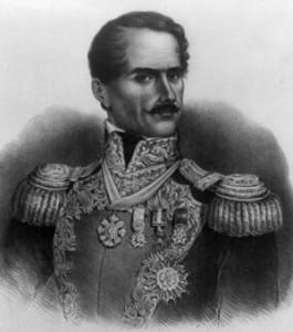 Gen. Antonio Lopez de Santa Anna