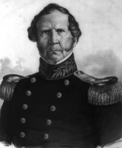 Maj. Gen. Winfield Scott.
