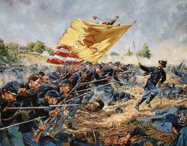 After crossing the North Anna River, Ulysses S. Grant's Union forces headed toward Cold Harbor.