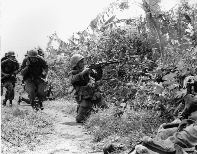 "For the U.S. Marines who endured constant shelling and ground attacks at Con Thien, the exposed position was a virtual ""meat grinder."""