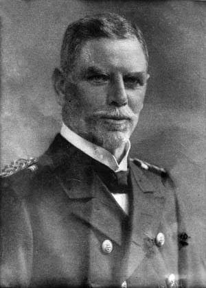 Admiral Maximilian Graf von Spee.