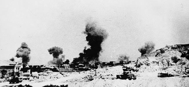 German airborne troops finally secured the island Crete following a pitched battle for Maelem airfield.