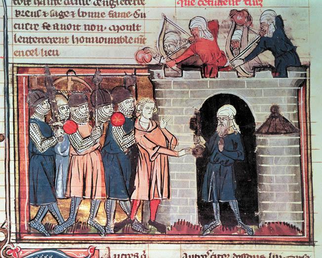 The first Christian-Muslim clash.