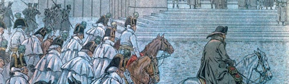 Napoleon Bonaparte's Failing Health at Dresden