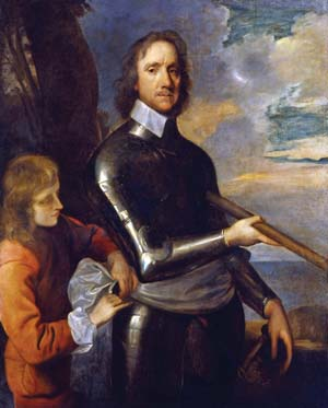 Oliver Cromwell was a politician by training, not a soldier. He rose through the ranks beginning as a captain of a volunteer cavalry troop in 1642.