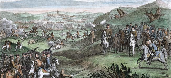 An all-out race to London between King Charles I and his Roundhead enemy came to a halt at Edgehill, a sodden hillside in Warwickshire.