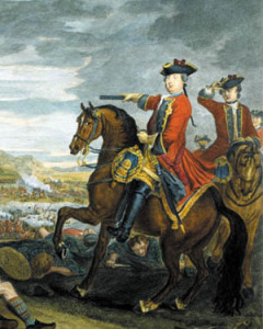 The Duke of Cumberland.