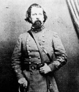 Fort Henry commander Lloyd Tilghman.