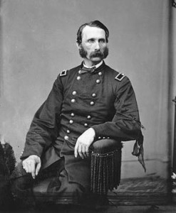 Brig. Gen. Napoleon B. McLaughlen was taken prisoner when Confederate forces stormed Ft. Stedmen.