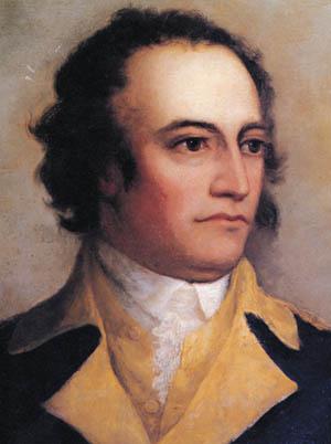 American Maj. Gen. John Sullivan.