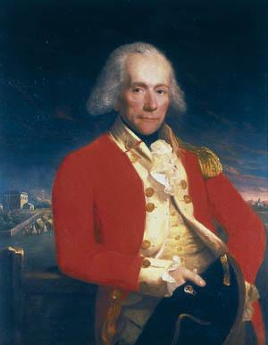 British Colonel Thomas Musgrave.