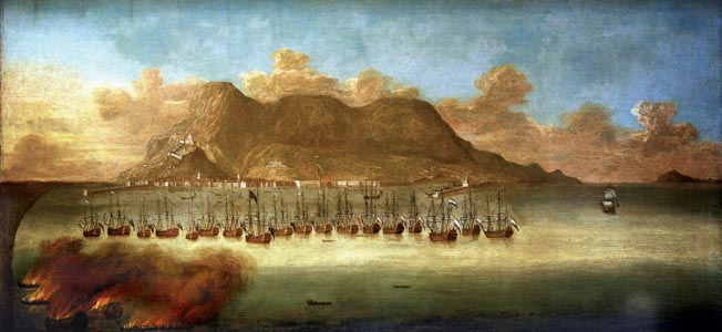 Admiral Sir George Rooke led a joint English-Dutch assault on the Spanish-held bastion of Gibraltar. It was key to controlling the Mediterranean.