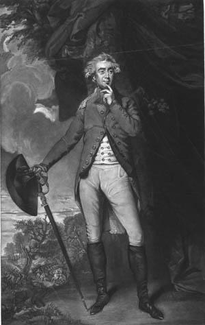 Greene's opponent, British Lord George Augustus Francis Rawdon.