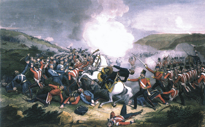 Attempting to rally the 4th Division up a muddy slope, General Sir George Cathcart was among the first to fall on the treacherous ascent.