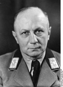 Generalkommissar Wilhelm Kube, geb. 13.11.1887 in Glogau, am 22.9.1942 in Weiflruthenien ermordet. 1928 Gauleiter der NSDAP 22.9.42 Presse Hoffmann