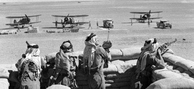British office John Glubb had an adventurous career as commander of the Arab Legion during and after World War II.
