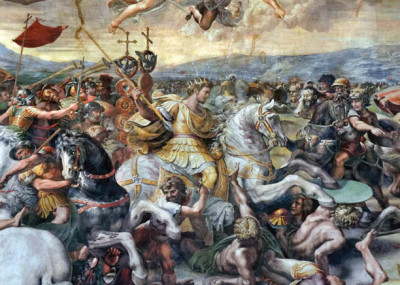 Bloody Clash on the Tiber