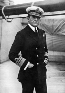 British Vice Admiral Sir David Beatty led the Battle Cruiser Squadron that opened the fighting at Jutland.