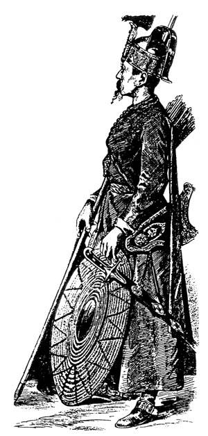 A Turkish archer.