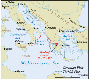 The two fleets maneuvered toward each other until their eventual clash in the narrow water between the Peloponnesus and the mainland of Greece.