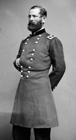 Federal Brig. Gen. Fitz John Porter.