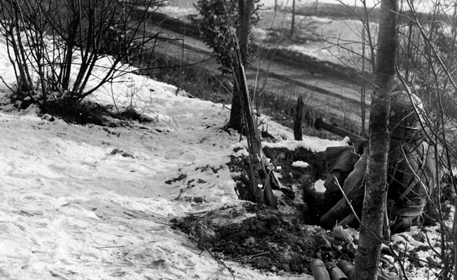 The crack 101st Airborne Division shored up the defense of Bastogne and played a major role in preventing the Germans from achieving their objectives on the south side of the bulge.