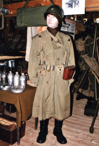 Mannequin dressed as Lt. Col. George B. Randolph, commander of the 712th Tank Battalion, who was killed by German shrapnel at Nothum Luxembourg, on January 9, 1945.