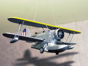 This Grumman JF-2 Duck is painted in pre-WWII colors.