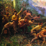 Braddock's Defeat in the Wilderness