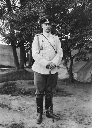 General Pavel Ivanovich Mishchenko led the botched Russian cavalry raid.