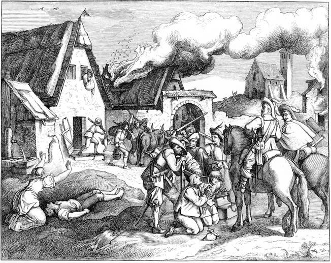 A Swedish-led Protestant army marched to the rescue of Nordlinger. But first it would have to pry the Catholic enemy from heights above the city.
