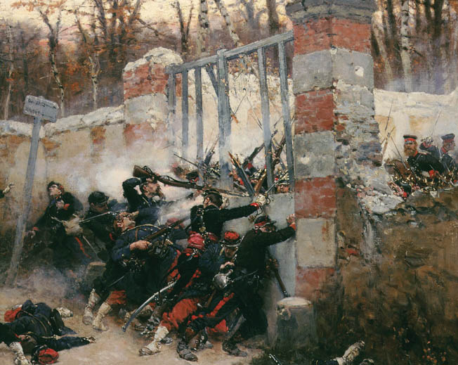French honor dictated that the nation continue fighting as long as the city of Paris held out against Prussian invaders. A pitiless siege ensued.