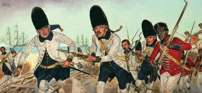 Spaniard Bernardo de Galvez besieged British-held Pensacola in 1781. It fell to Scotsman John Campbell to defend the remote outpost.