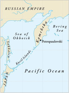Petropavlovsk was an isolated outpost on the southeastern coast of Russia's Kamchatka Peninsula.