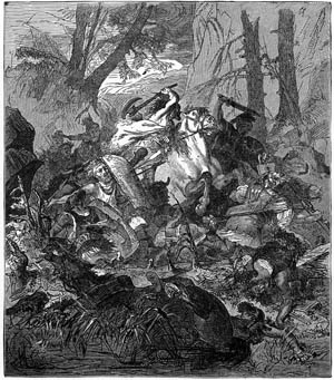 The Roman army led by Varus met an ignominious fate at the hands of Arminius's Goths in the Teutoburger Forest in AD 9.