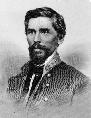 Confederate Major General Patrick Cleburne.