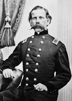 Union Brigadier General Richard W. Johnson.