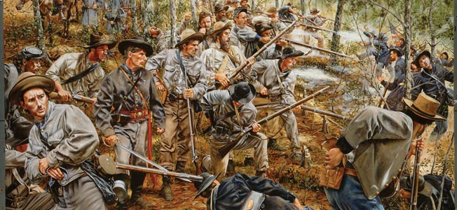 Embarrassed by the recent setback at New Hope Church, Union General Sherman ordered an ill-advised attack on entrenched confederate positions.