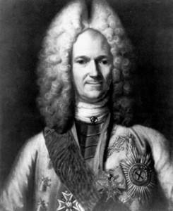 Prince Alexander Menshikov.