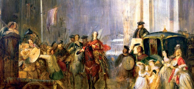 The first real blood in the fort-five rebellion was drawn when Bonnie Prince Charlie's Jacobite rebels squared off against government forces.