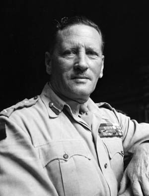 The underrated British General won two major battles against supposedly unbeatable Marshal Erwin Rommel in North Africa.