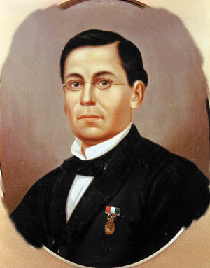 As a teenager General Ignacio Zaragoza had fought American forces during the Mexican-American War.