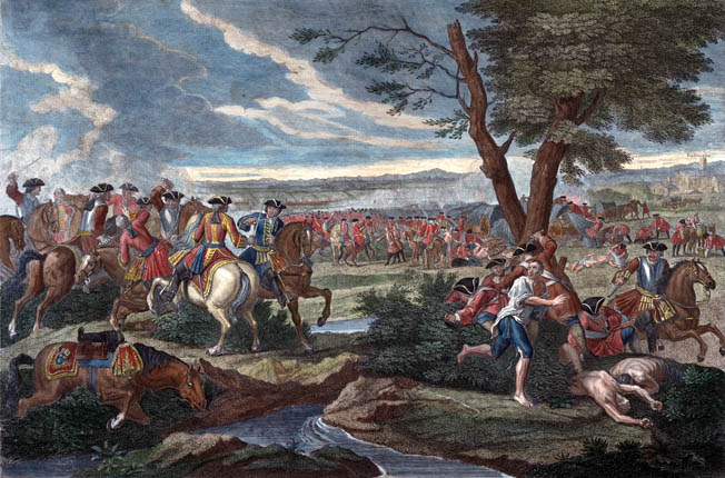 The Duke of Marlborough successfully thwarted the French attempt to regain the initiative at Ramillies in 1706 during the lengthy War of the Spanish Succession.