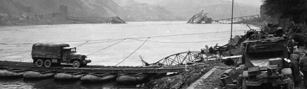 Bridging the Rhine at Remagen: Infantryman Paul Priest Recalls the Historic Crossing