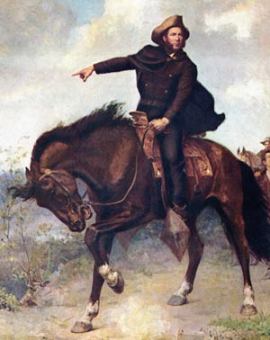 "Sam Houston's Texians exacted revenge at San Jacinto, screaming ""Remember the Alamo!"" and ""Remember Goliad!"" as they stormed the Mexican camp. After Texas became a state in 1845, Houston was immediately elected to the U.S. Senate."